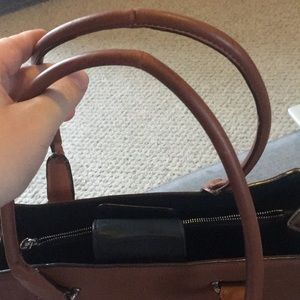 Coach Bags - Coach Swagger Saddle Pebbled Leather Carryall Tote